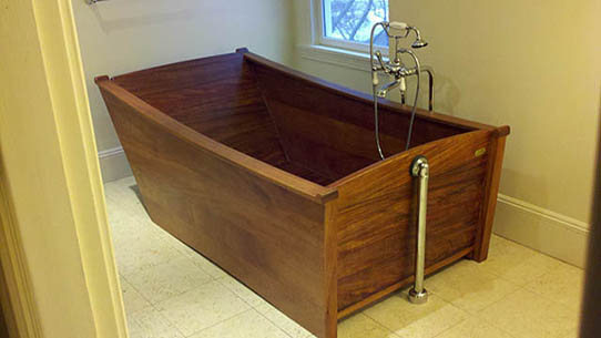 Wooden Bathtubs - Luxury Wood Tubs - Our Portfolio