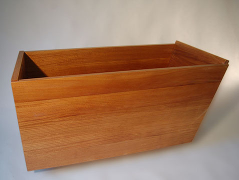 custom wooden tub
